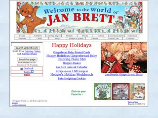 jan bretts home page