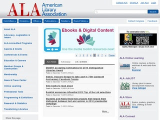 Young Adult Library Services Association (YALSA)