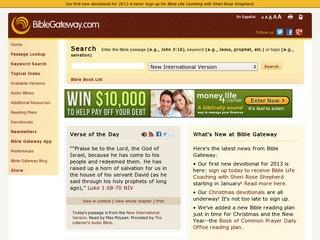 Bible Gateway   Great Websites for Kids