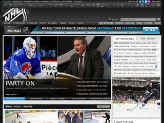 National Hockey League Nhl Great Websites For Kids