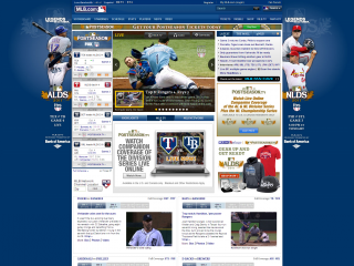 MLB screen shot