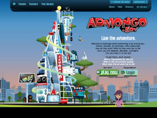 Screenshot of ADMONGO
