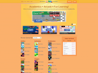 academic skill builders screen shot