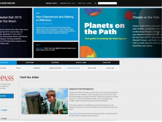 Adler Planetarium screen shot