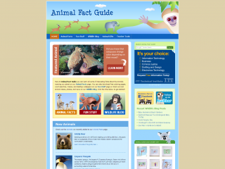 Animal Fact Guide | Great Websites for Kids