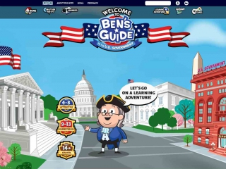 Ben's Guide to the U.S. Government screen shot
