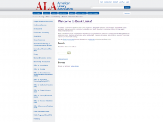 Book Links screen shot