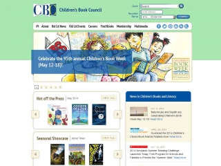Children's Book Council screen shot