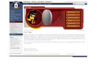 CIA for kids - games screen shot
