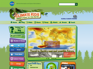 Climate Kids screen shot