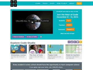 Code.org screen shot