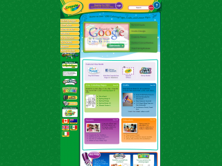 Crayola screen shot