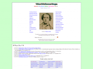 Charles Dickens page screenshot
