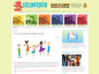 Dr. Toy's Guide on the Internet - screen shot