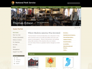 Edison National Historic Site screen shot