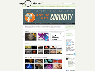 Exploratorium screen shot