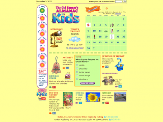 Farmer&#039;s Almanac for Kids screen shot