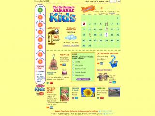 Farmer's Almanac for Kids screen shot