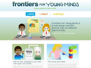 Frontiers for Young Minds screen shot