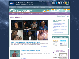 Jet Propulsion Laboratory screen shot
