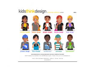 Kids Think Design screen shot