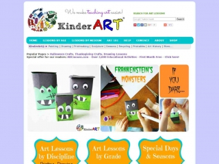 Kinder Art - screen shot