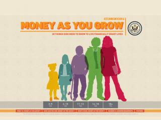 Money As You Grow website screen shot