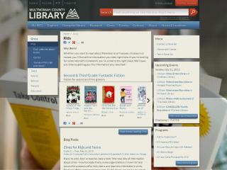 Multnomah County Library screen shot