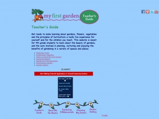My First Garden homepage screen shot