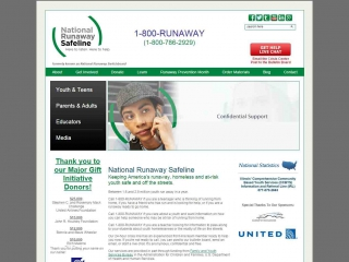 National Runaway Safeline screen shot