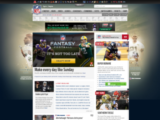 NFL screen shot