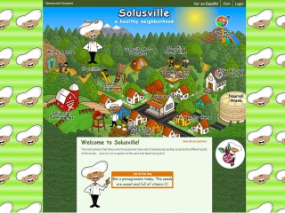 Nourish Interactive screen shot