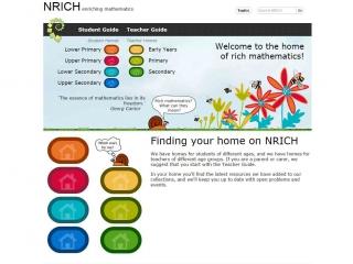 NRICH - screen shot