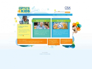 Optics 4 Kids - screen shot