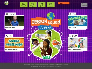 PBS Kids Design Squad - screen shot