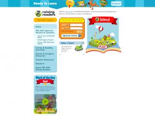 Raising Readers Island screen shot