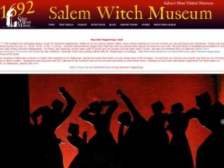 Salem (Mass.) Witch Museum screen shot