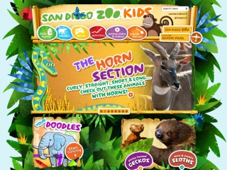 San Diego Zoo Kids screen shot
