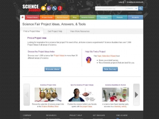 Science Buddies screen shot