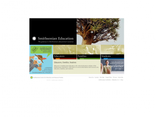 Smithsonian Education screen shot