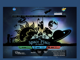 Space Place in Spanish screen shot