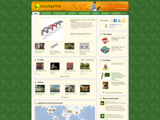 Youngzine screenshot