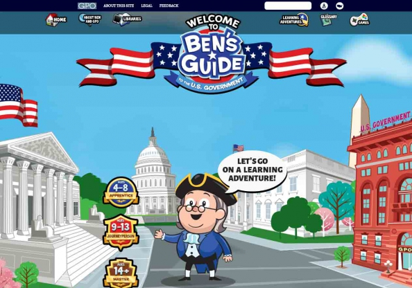 Ben's guide to U.S. government for kids. (Internet ...