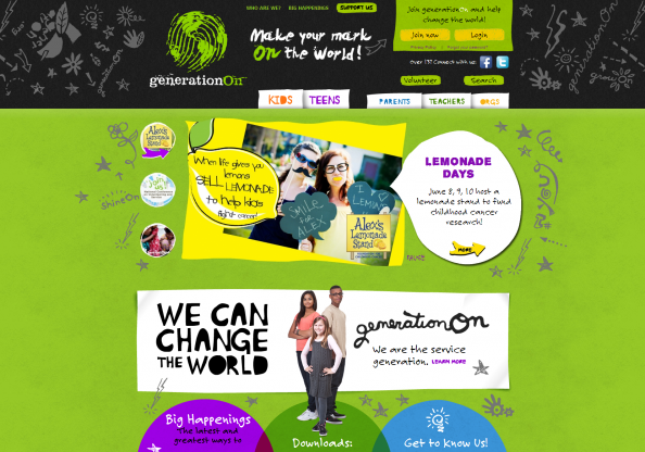 Generation.org screen shot