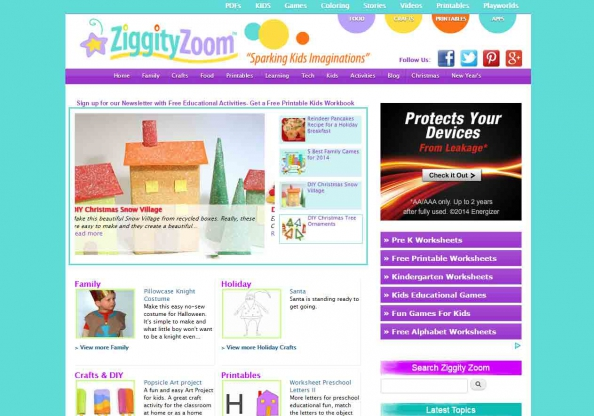 Ziggity Zoom screen shot