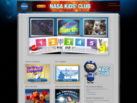 NASA Kids Club screen shot