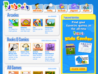 Screenshot of FunBrain.com