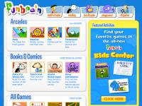 Screenshot of FunBrain.com