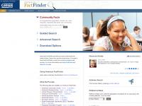 screen shot - American Fact Finder