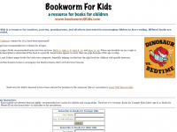Screen shot - Bookworm for Kids